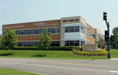 Photo: exterior building shot - Associated Dentists in Roseville, MN